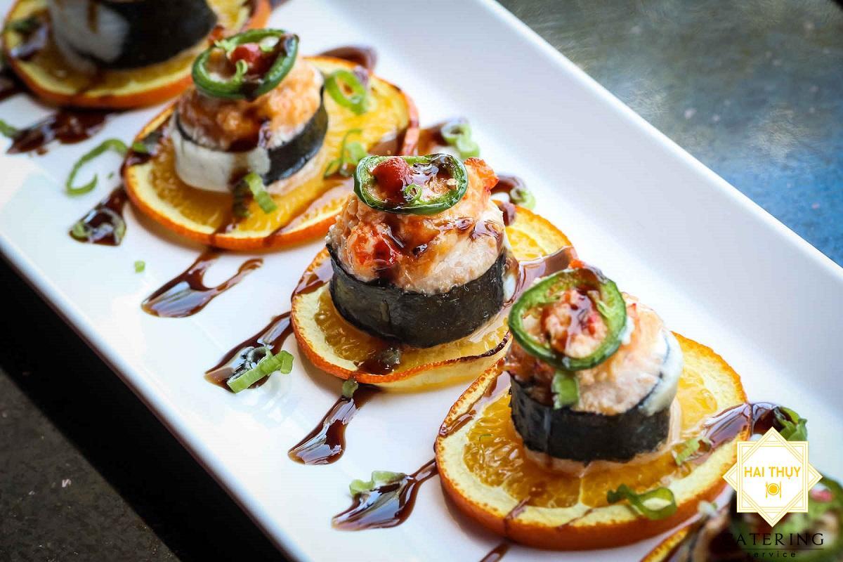 Nghệ thuật trang trí món ăn làm bàn ăn trở nên đẹp mắt