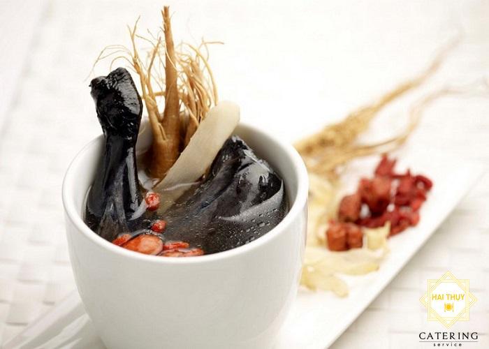 Công thức nấu gà đen hầm dấm cho người tiểu đường