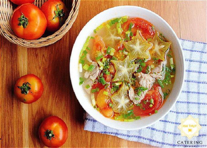 """Nấu """"canh cà chua thịt bò"""" đậm đà"""