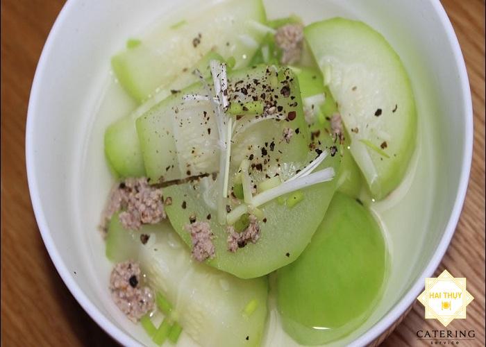 Công thức nấu món bí đao dinh dưỡng cho người tiểu đường