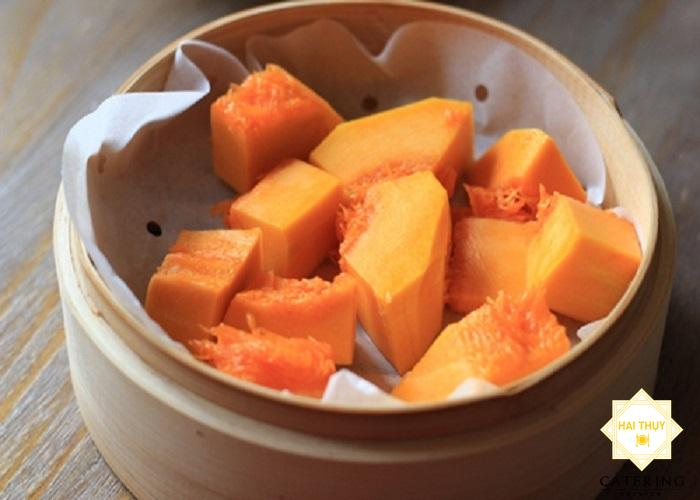 Công thức bí đỏ nấu chay thanh đạm tốt cho người tiểu đường