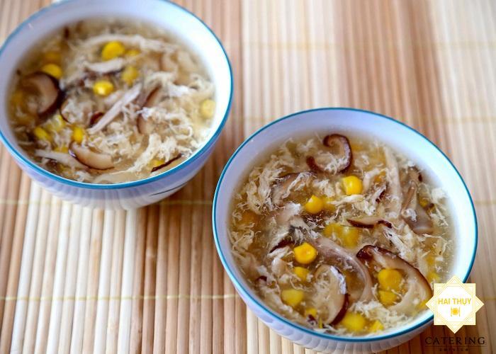 Bật mí bí kíp làm súp gà nấu nấm kết hợp măng tây