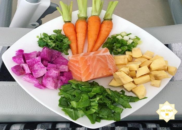 Cách nấu cháo cà rốt với khoai lang cực kì bổ dưỡng