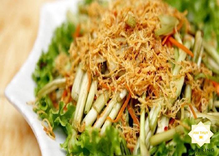 Cùng học cách nấu món rau gỏi cần ruốc bổ dưỡng