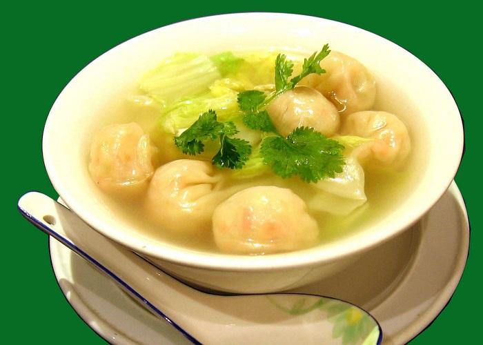Học cách nấu súp hoành thánh cực kì ngon
