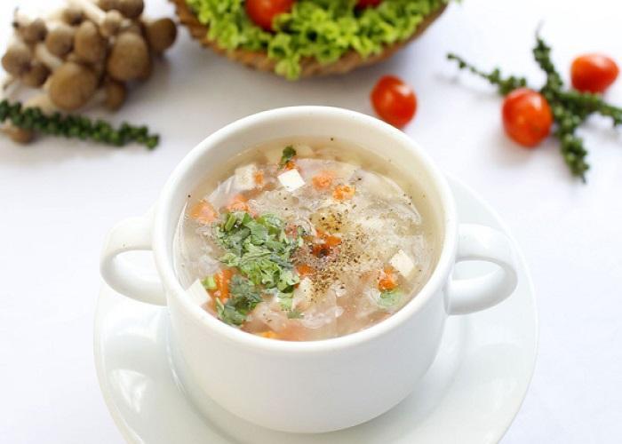 Thêm món súp hồng nhạn vào thực đơn