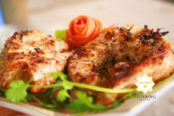 cá trắm nướng mẻ
