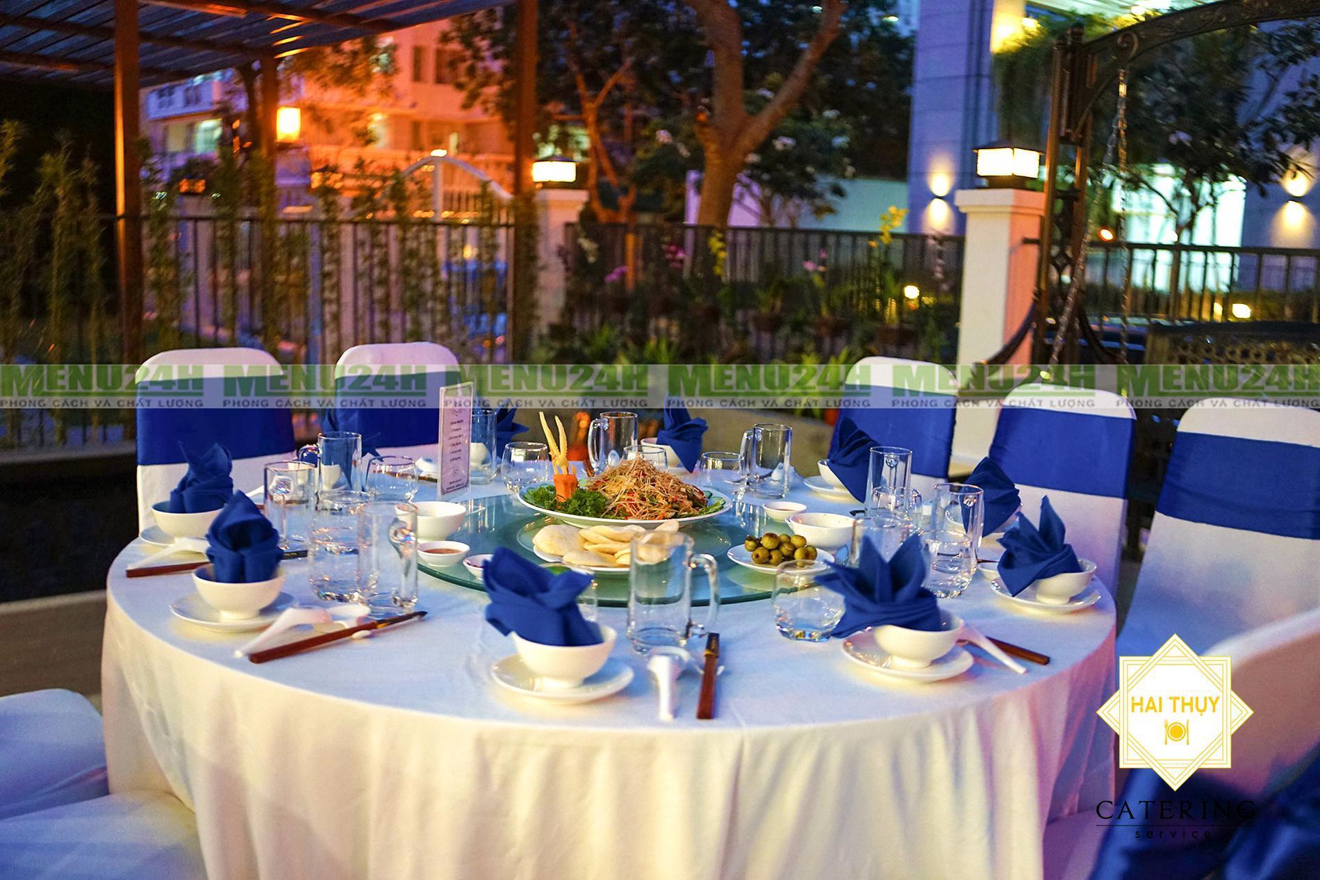 Dịch vụ nấu tiệc Thủ Đức - Tiệc cao cấp tận nơi chỉ với 3 bàn tiệc