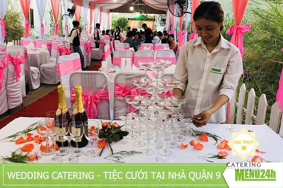 Dịch vụ tiệc cưới trọn gói- menu24h