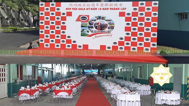 Đêm Gala tiệc mừng kỷ niệm 10 năm thành lập công ty TNHH dệt may Eclat