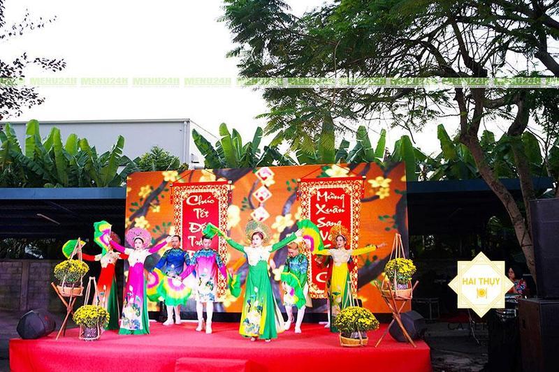 Mê mẩn với buổi tiệc tất niên công ty sao bắc đẩu Khu chế xuất Tân Thuận Quận 7