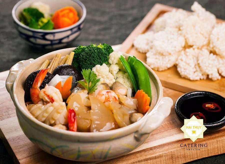 mì hải sâm- món ăn dinh dưỡng