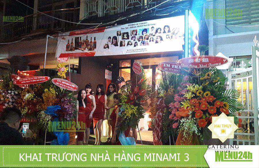 Mừng khai trương nhà hàng Minami 3 Quận 1