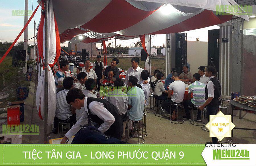 Mừng tân gia tại Long Phước, Quận 9 - Dịch vụ tiệc lưu động Menu24h