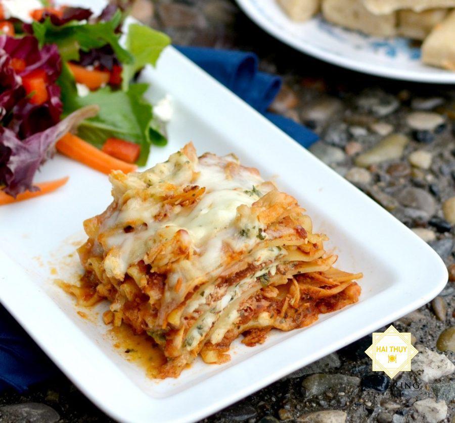 Mỳ tấm Ý hải sản