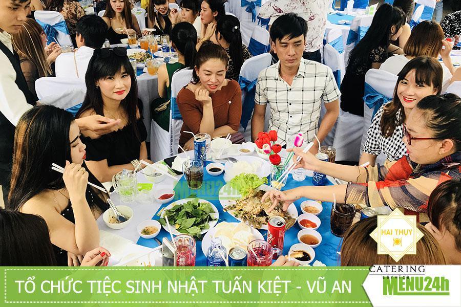 Sinh nhật tại Thuận An, Bình Dương - Mừng hai cháu Tuấn Kiệt và Vũ An