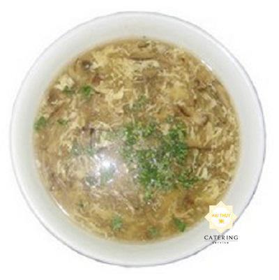 Soup rong biển hải sản