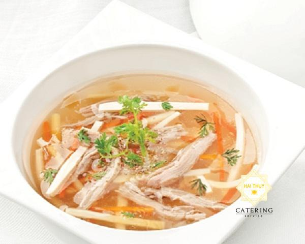 Soup vịt quay