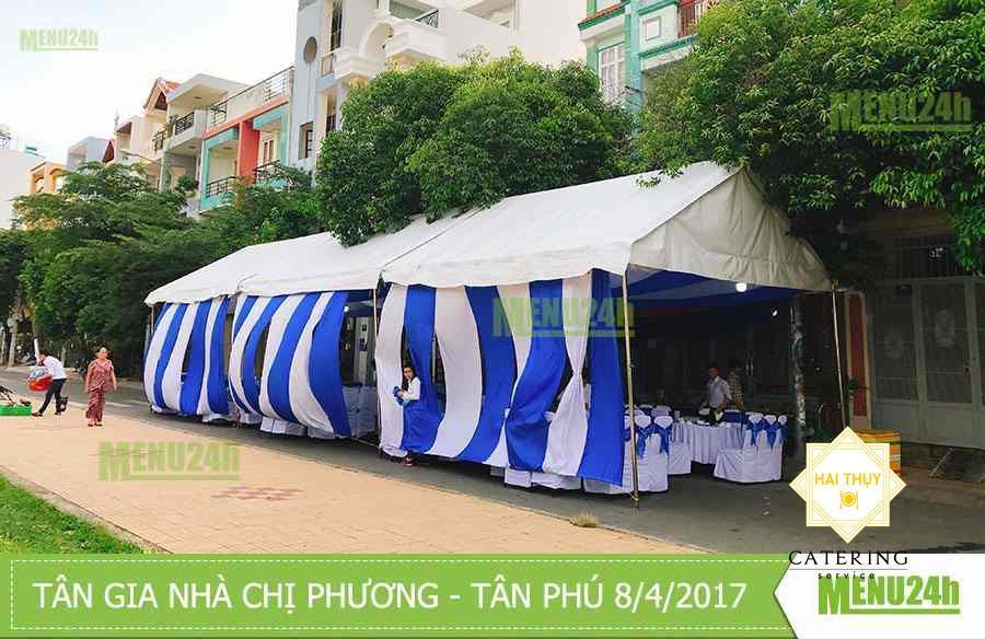 Tân gia trọn gói tại Nguyễn Thế Truyện - Tân Phú chiều 8/4/2017