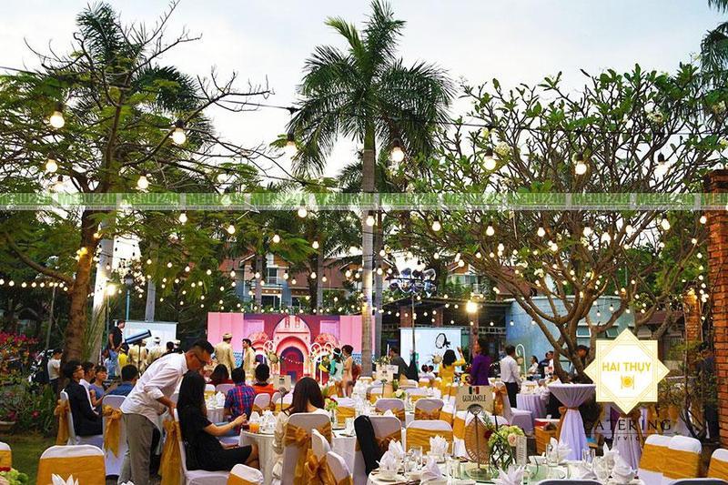 Thăng hoa hạnh phúc cùng những giai điệu ngọt ngào trong buổi tiệc cưới vip tại quận 7