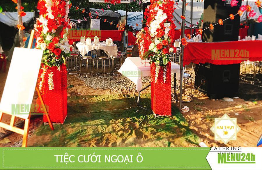 Tiệc cưới đơn giản tại ngoại ô Bình Hưng Bình Chánh