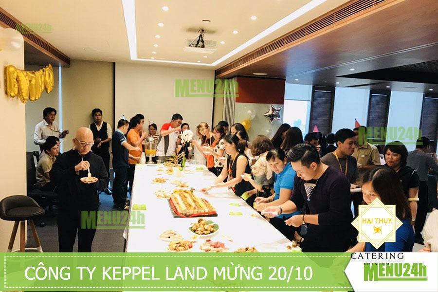 Tiệc finger food mừng 20/10 tại Keppel Land Quận 1
