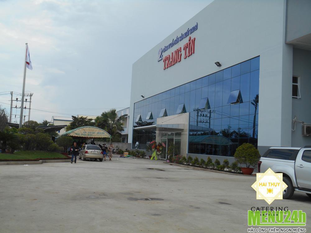 Tiệc khai trương công ty TNHH bao bì Trang Tín