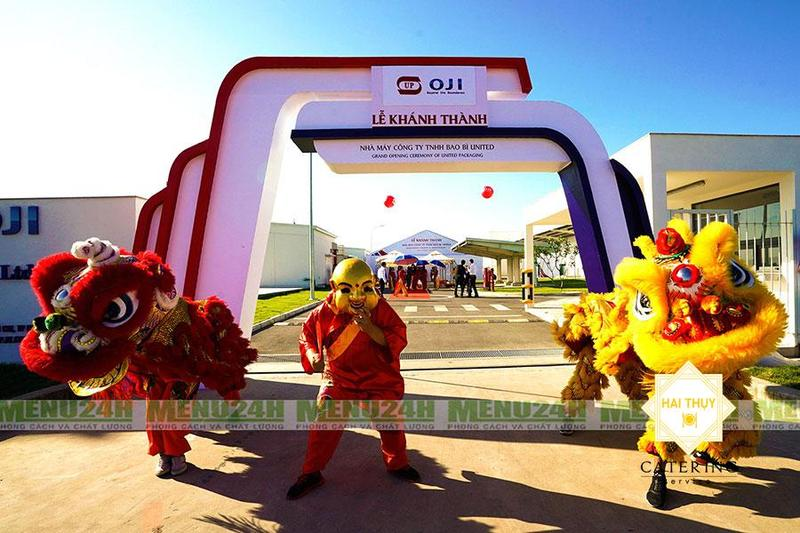 Tiệc khai trương Củ Chi - Nhà máy bao bì United khu công nghiệp Tân Phú