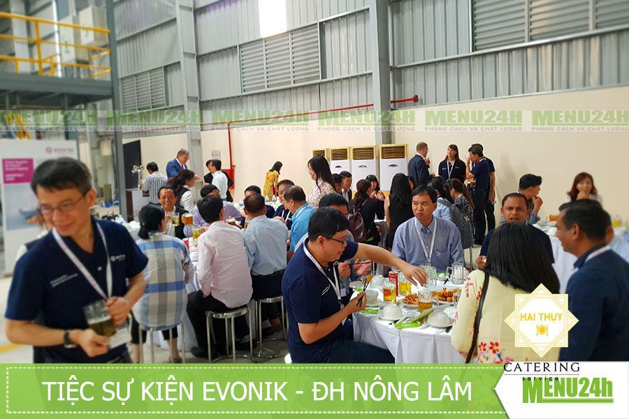 Tiệc lưu động tại ĐH Nông Lâm - sự kiện Evonik, Tp.HCM