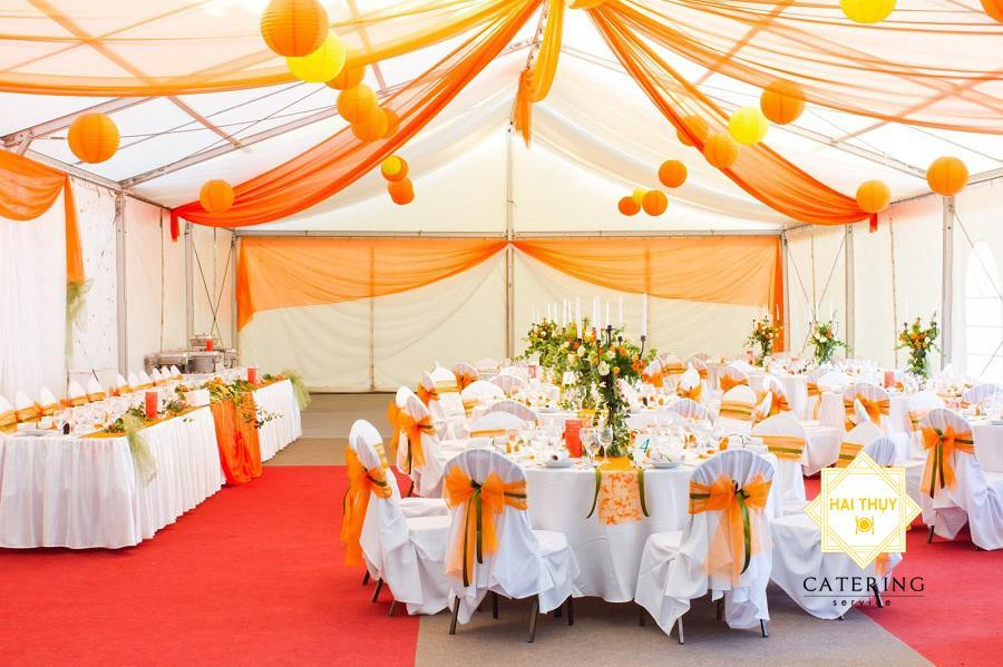 Tiệc outside catering - Wedding catering