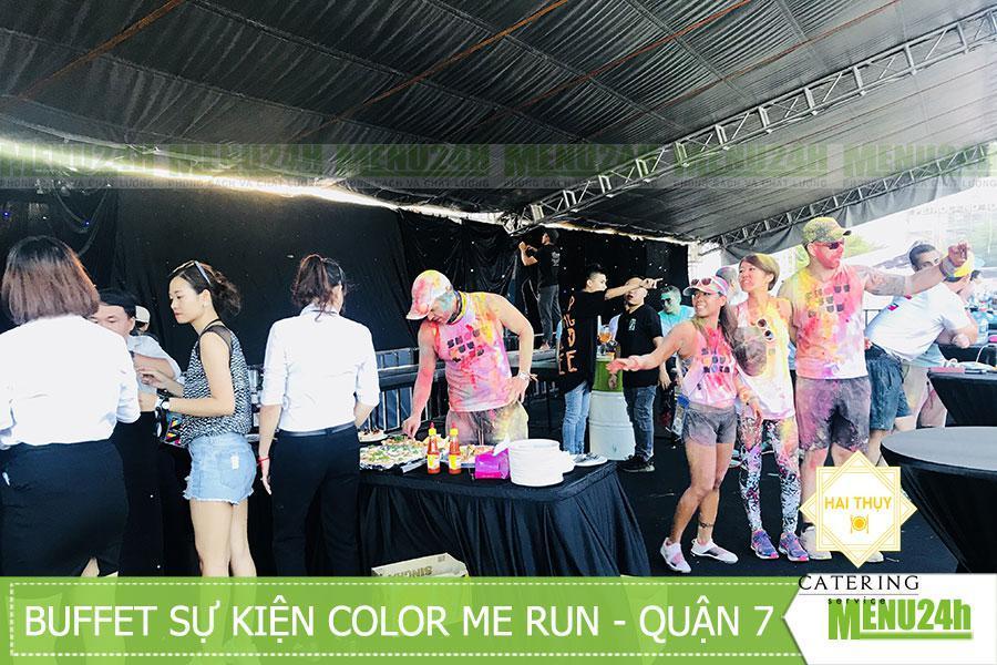 Tổ chức tiệc buffet sự kiện Color me run - Quận 7