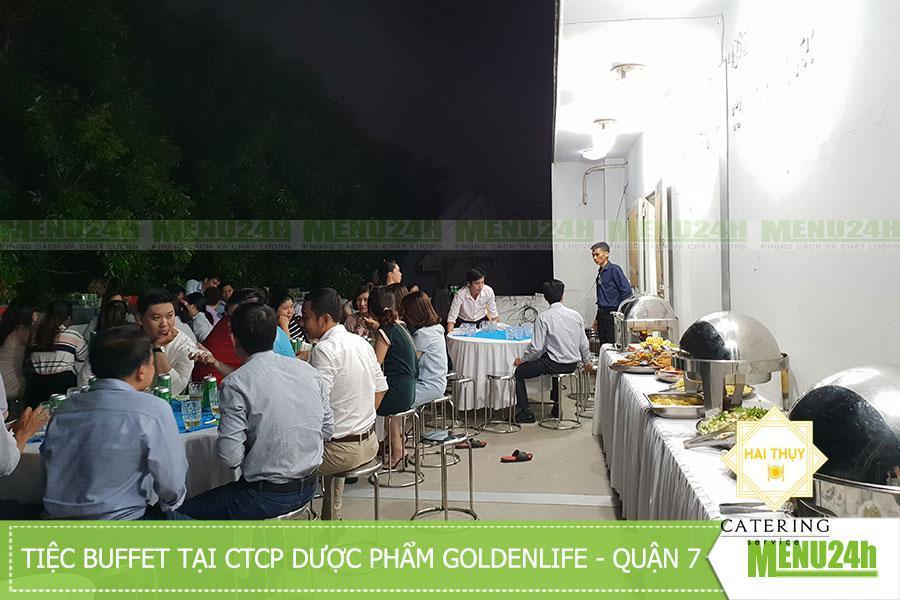 Tổ chức tiệc buffet tại CTCP Goldenlife - Phường Tân Phong - Quận 7
