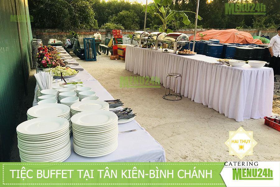 Tổ chức tiệc buffet tại Tân Kiên - Bình Chánh