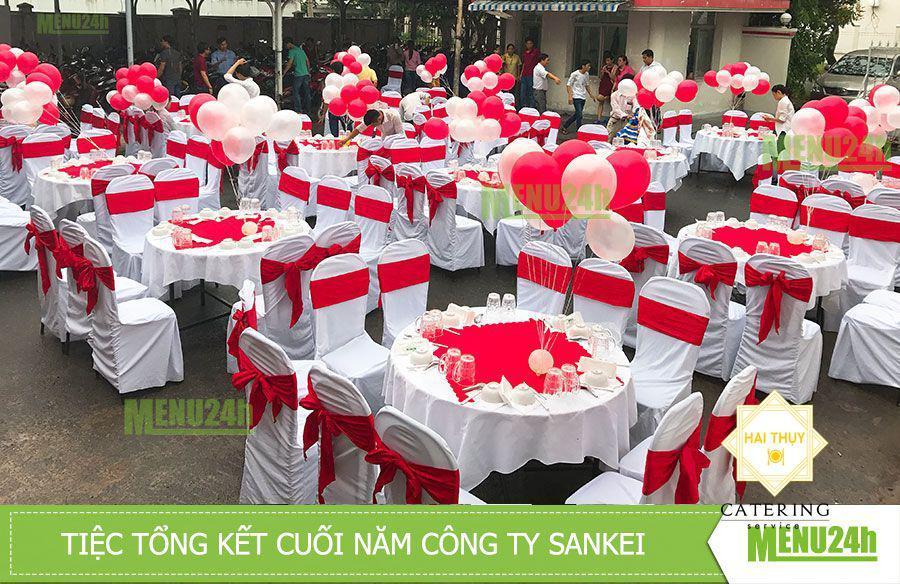 Tổ chức tiệc cuối năm tại công ty SanKei