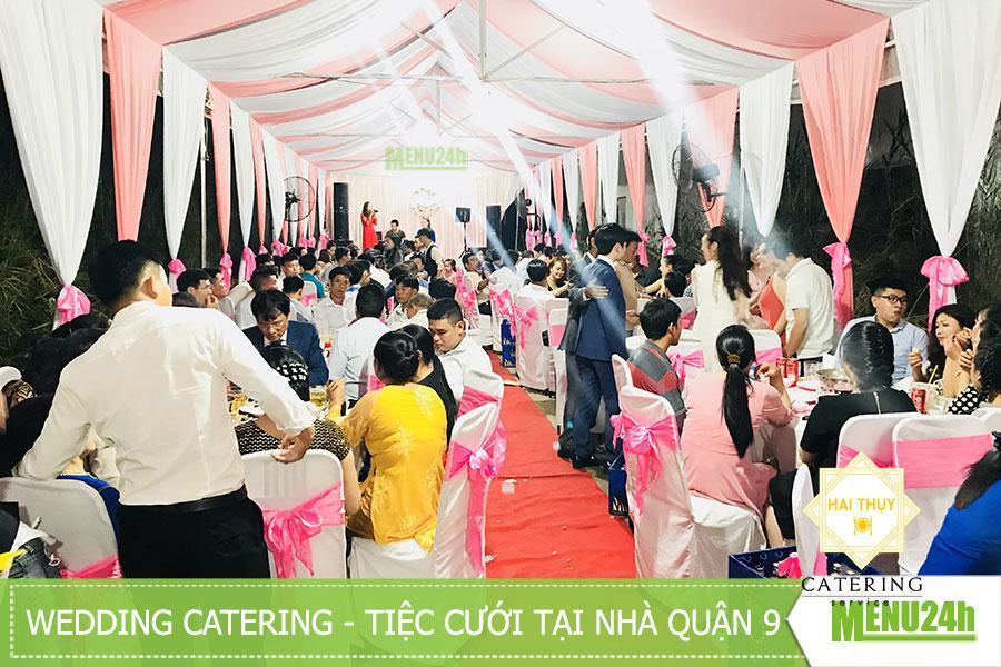 Tổ chức tiệc cưới quận 9 - Wedding catering
