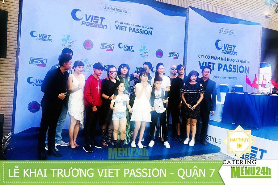 Tổ chức tiệc finger food khai trương TTGT Việt Nam Passion - Quận 7