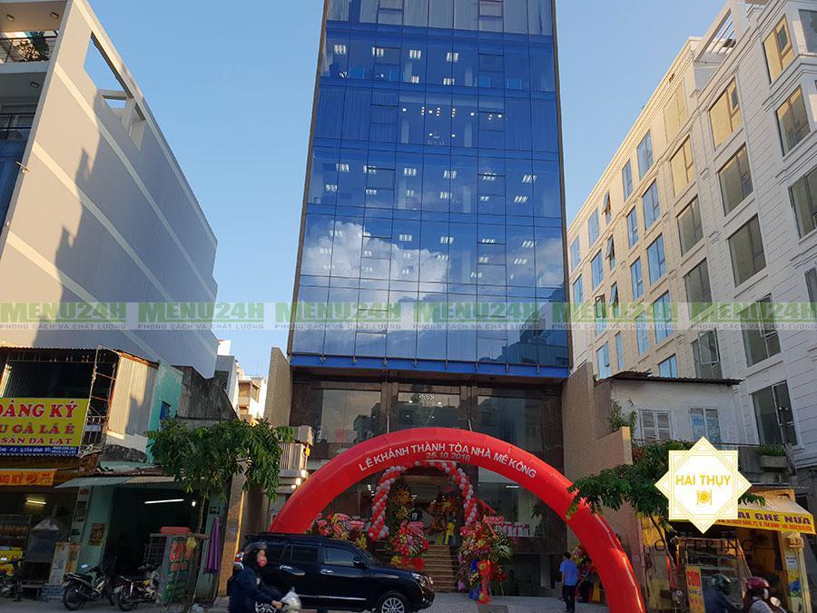 Tổ chức tiệc khánh thành tòa nhà Mê Kông