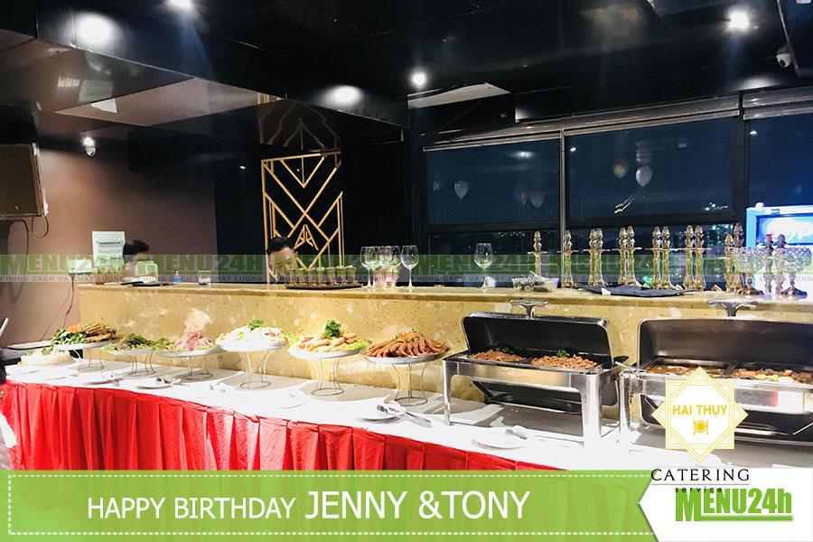 Tổ chức tiệc sinh nhật tại Quận 3 - Tiệc lưu động Menu24h