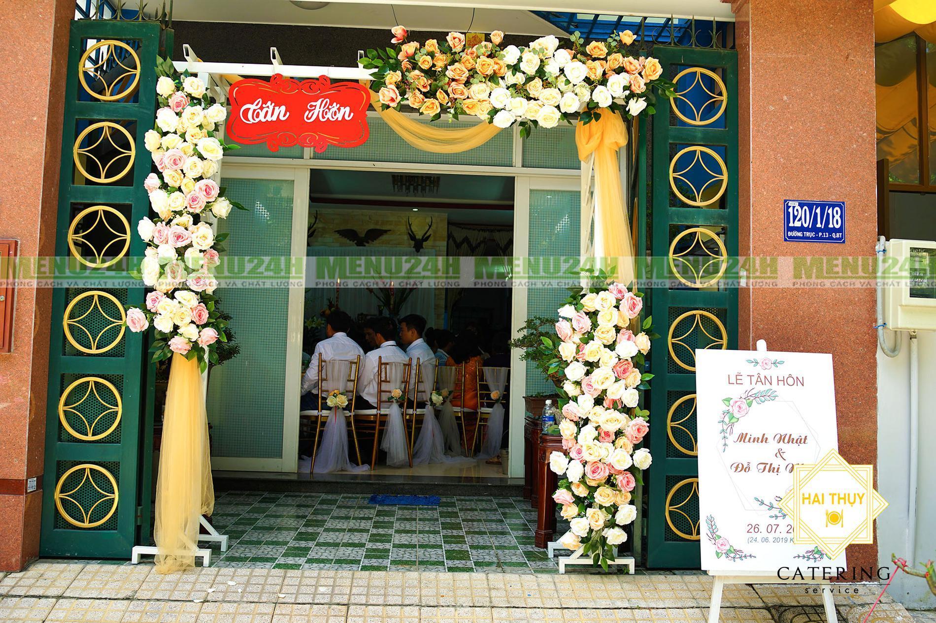 Tổ chức tiệc tân hôn tại nhà - Chìm đắm trong những phút giây hạnh phúc