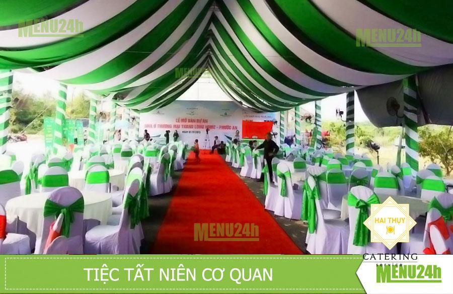 Tổ chức tiệc tất niên - Nhà hàng lưu động Menu24h