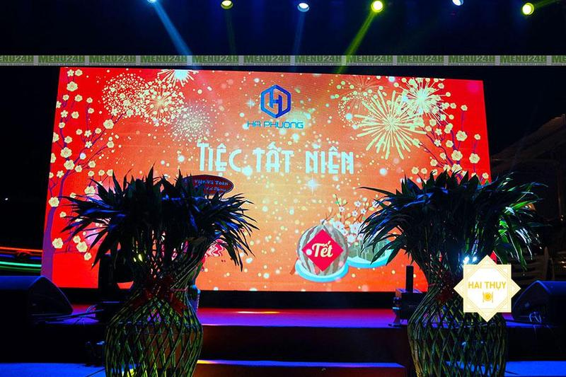 Tổ chức tiệc tất niên công ty san lấp mặt bằng Hà Phương – Bùng nổ cùng sự kiện cuối năm