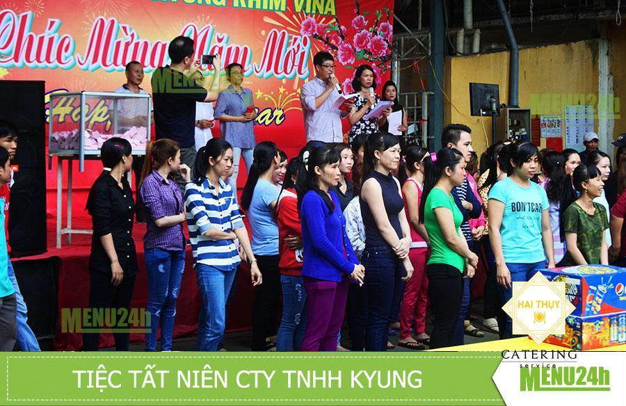 Tổ chức tiệc tất niên Công ty TNHH Kyung Rhim Vina