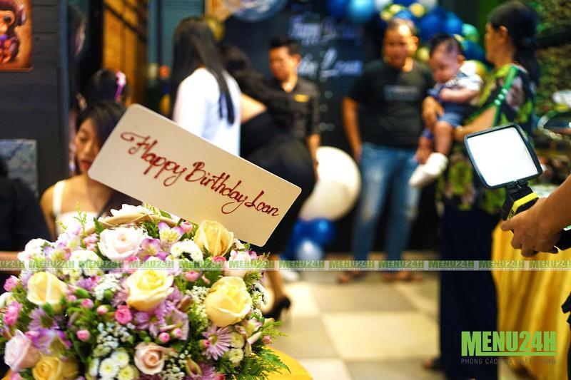 Tiệc buffet Tphcm – Dịch vụ tổ chức tiệc sinh nhật bé Cẩm Loan đồng thời khai trương quán Beer Coffee