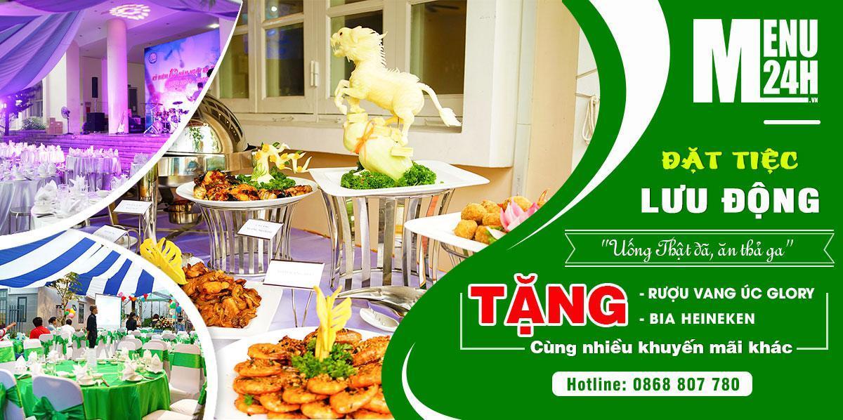 Dịch vụ catering - Công ty tổ chức tiệc lưu động tại Tp.HCM