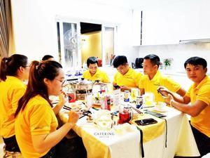 Menu24h đồng hành  tổ chức thành công tiệc tân gia Đại Cát tại phường Phú Mỹ quận 7
