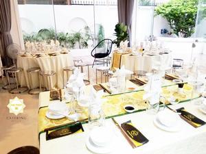 Phong cách setup bàn tiệc chuyên nghiệp đem đến sự thoải mái nhất cho khách mời
