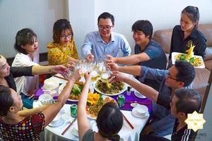 Hưởng trọn niềm vui trong một buổi tiệc hoàn hảo