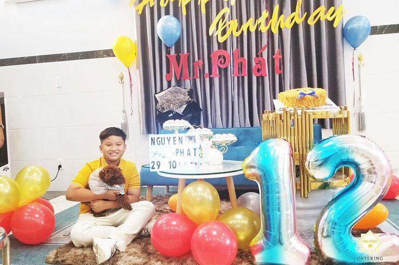 Tiệc sinh nhật tuổi 12 ý nghĩa của Nguyên Phát - Menu24h