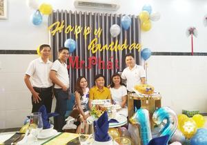 Tiệc sinh nhật ý nghĩa và vui vẻ của Nguyên Phát tại gia