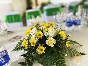 Bông hoa sắc vàng lan tỏa niềm vui